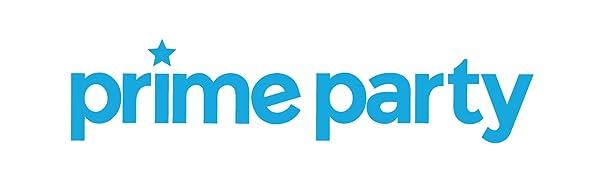 Prime Party Logo Blue Horizontal