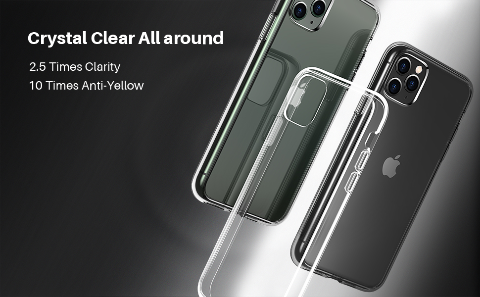 iPhone 11 pro case clear