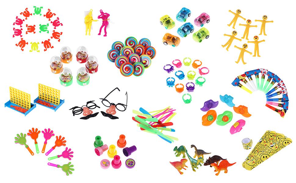 120pcs party favor toys