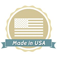 Made in USA. United States sourcing ensures high quality formula and safety. Premium American balm.