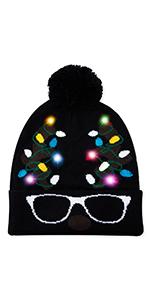 LED Light Up Beanie Hat