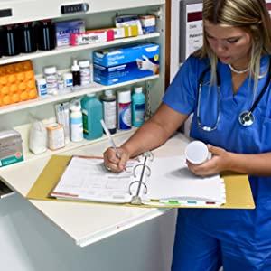 carstens ring binder, ring binder, medical chart binder,