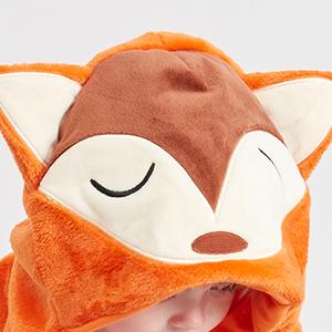 cute animal hooded
