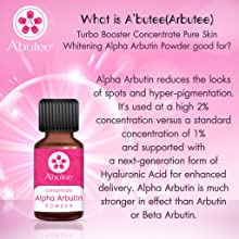 arbutee Alpha arbutin Powder