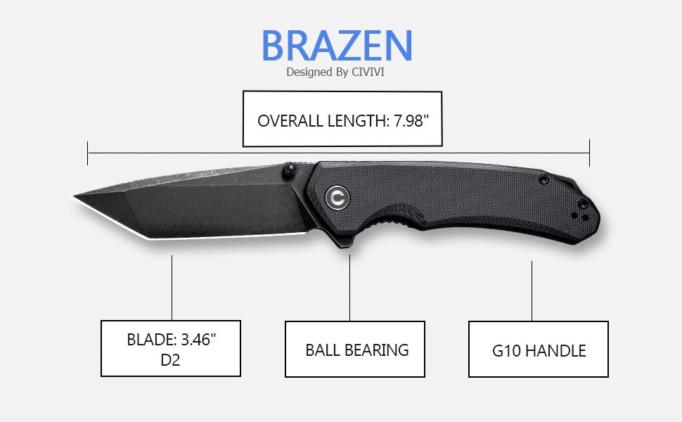 CIVIVI Knives Brazen