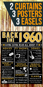 1960 1959 60th Birthday Posters Rose Gold for women for her back in 1960 count down cheers to 60