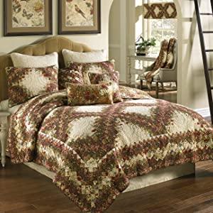 Contemporary Bedding Set, Donna Sharp, Watercolor Irish Chain