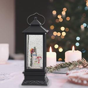 Snow Globe Lantern with Timer
