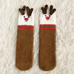 Women Plush Socks