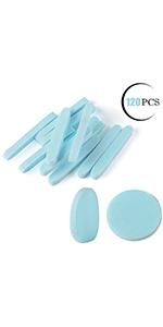 Facial Sponge Compressed,120 Count Blue PVA Professional
