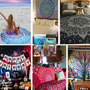 Hippie Graffiti Tapestry Wall Decor Tapestries Mandala Magic Kingdom Tapestry Mandala Queen Japanese