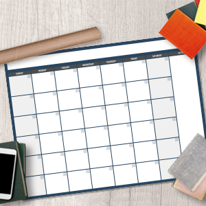 Dry Erase Yearly Wall Planner