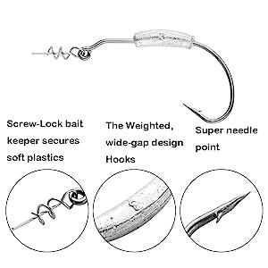 fishing hooks weights