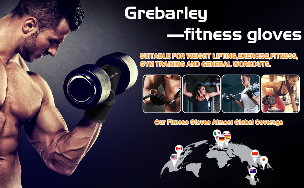 grebarley gym gloves