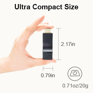 Ultra compact size