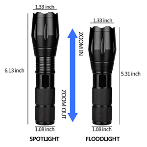 led flashlights with holster