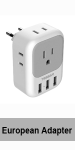 Most of European Adapter
