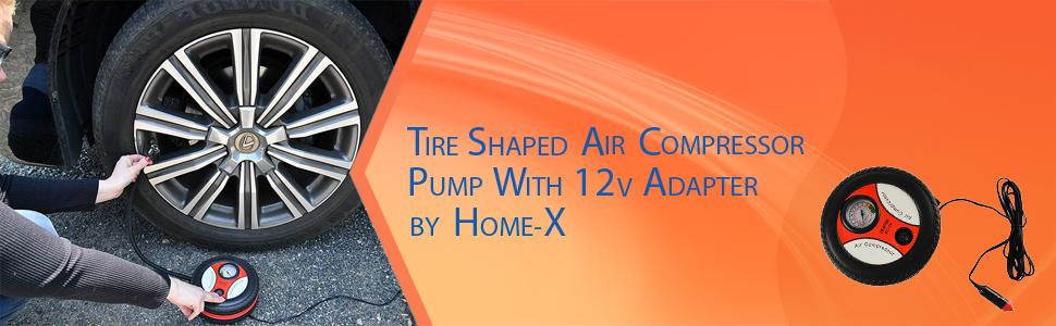 Tire Shaped Air Compressor Pump