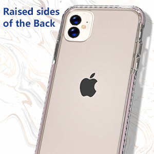 iphone 11 clear pink case