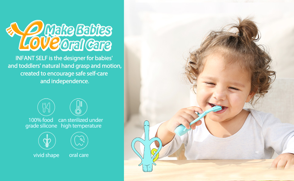 Infant self Baby Toothbrush