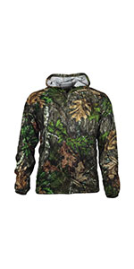 mossy oak obsession turkey camo nwtf tick repellent clothing gamehide hunting jacket full zip