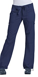koi Basics 701 Women's Scrub Pant Drawstring Medical Healthcare Uniforms Fashion