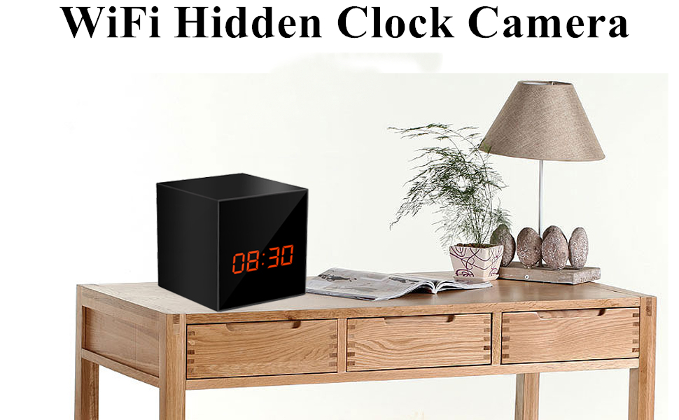 Hidden Camera Clock