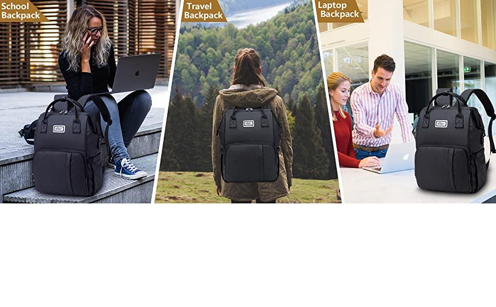 Work Travel School Backpack