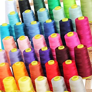 serger thread colors