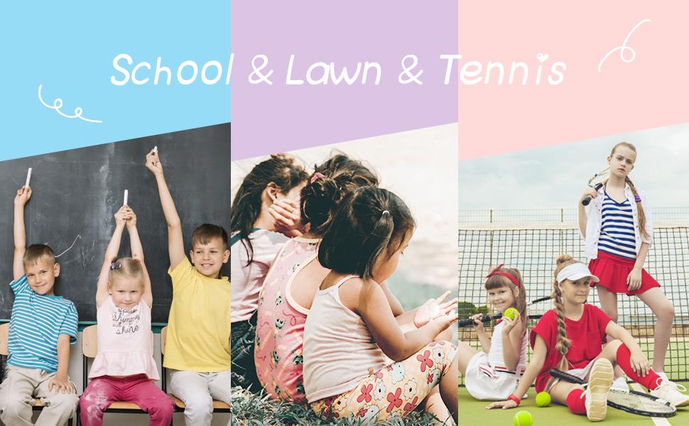 school lawn tennis
