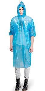 emergency raincoat adults