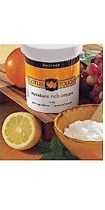 Lotus Touch Moisture Rich Massage Cream
