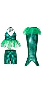 B07MMPSZZH mermaid costume dress up set