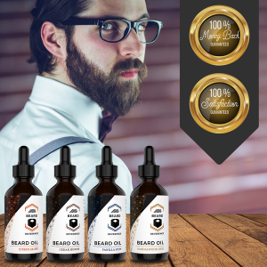 Beard Oil Variety 4 Pack Promise