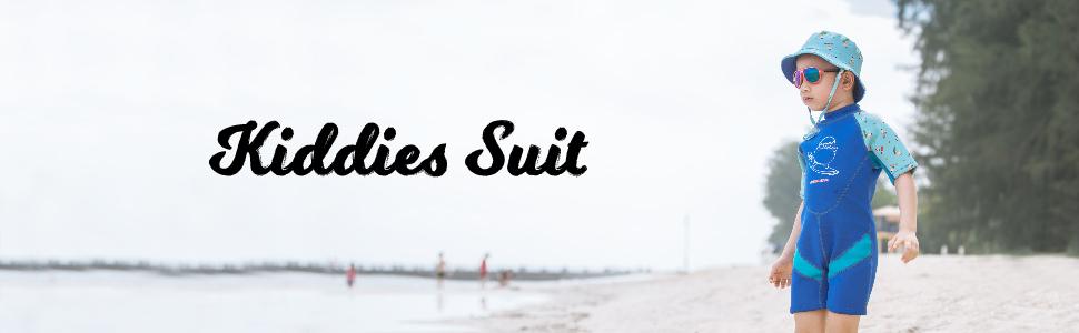 Cheekaaboo UPF50 neoprene thermal swimsuit wetsuit sunsuit kids toddler keep warm UV protective