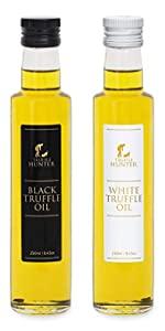 TruffleHunter Black & White Truffle Oil Set Double Concentrate
