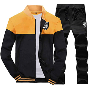 men tracksuit set