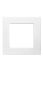 12x12 for 8x8 single white mat pre cut white core photo mattes
