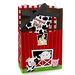 Farm Animals Barnyard Favor Boxes