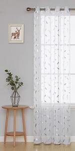 sheer curtain 84 inch long