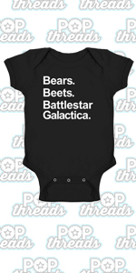 Pop Threads Workplace Office Humor Funny Merchandise TV Show Infant Baby Boy Girl Bodysuit