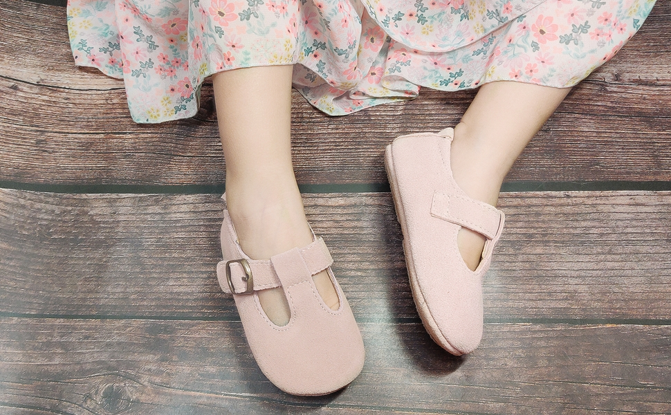 pink baby girl dress shoes