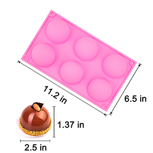 chocolate bomb molds silicone