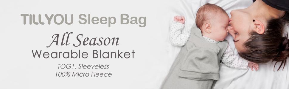 sleeveless sleep sack baby wearable blanket