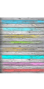 colorfull wooden board background