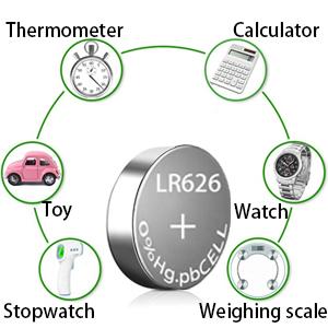 lr626 watch batteries