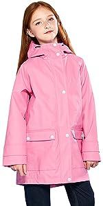Girl Rain Jacket