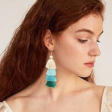 tzitzit earrings