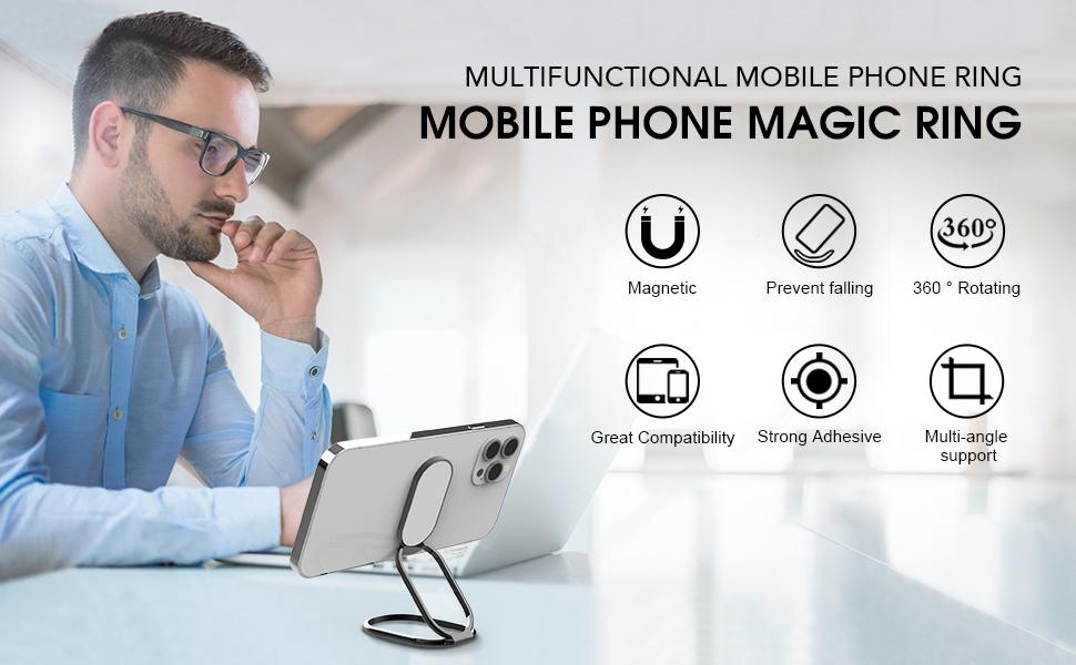 Mobile Phone Magic Ring
