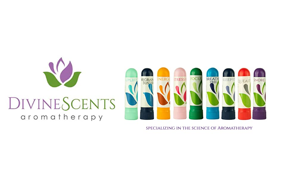aromatherapy essential oil nasal inhalers organic wellness natural breathe lavender